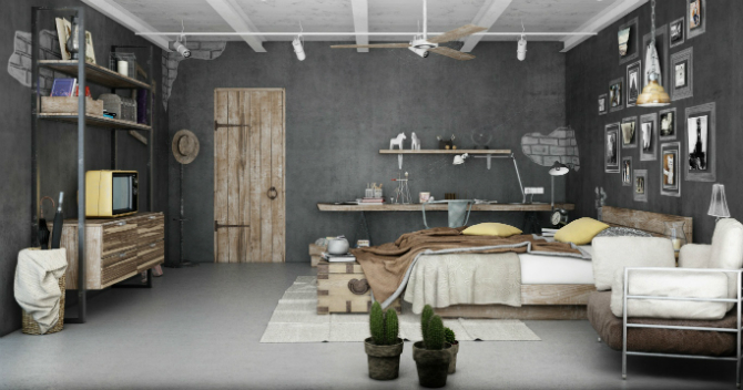 industrial home cinco industrial style Learn how to get an industrial style home industrial home cinco