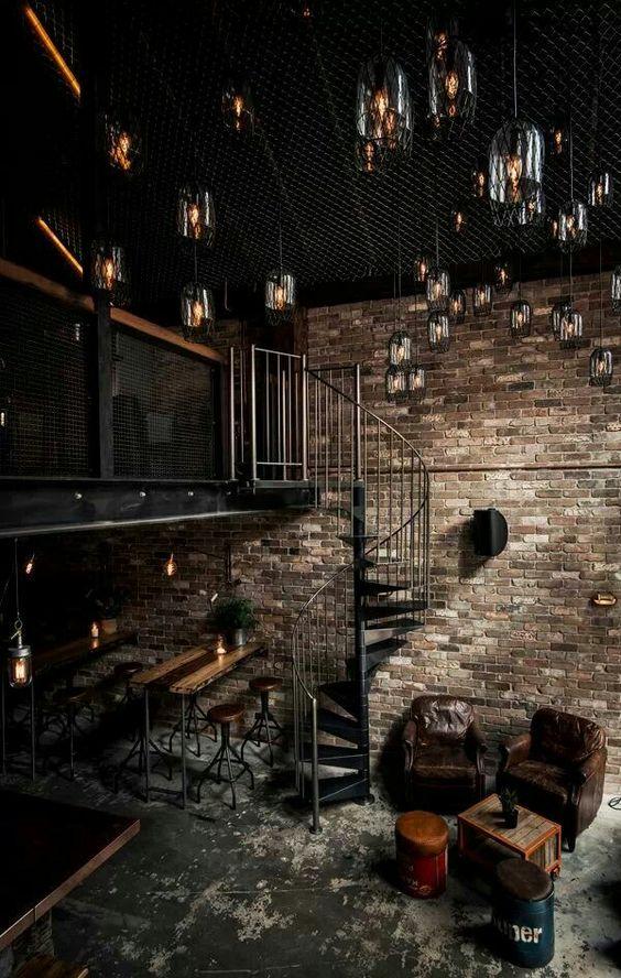industrial decor attic storage ideas - Industrial Decor