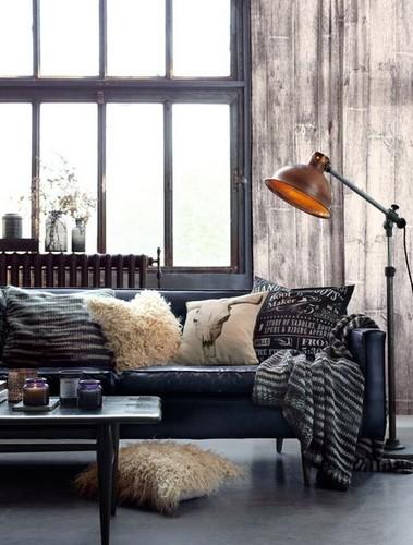 inspiring floor lamps industrial interior Industrial interior: inspiring floor lamps 1