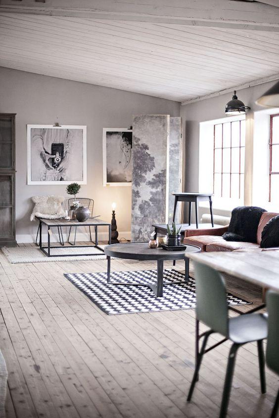 10 Industrial Decor Living Room Ideas Vintage Industrial