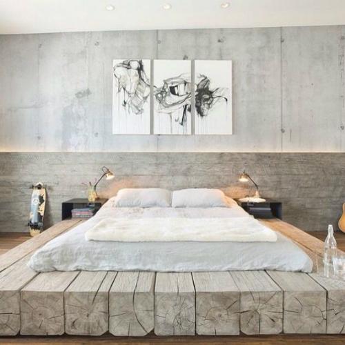 10 Industrial interiors bedroom ideas 4