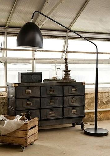 Industrial Interior Inspiring Floor Lamps