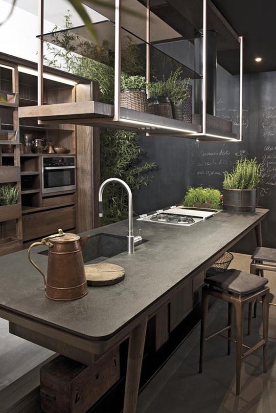 Inspiring items for your Industrial kitchen  industrial kitchen Inspiring items for your Industrial kitchen  65aa4ef89390a1b4c28702c1556364ee