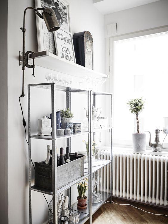 attic storage ideas industrial decor