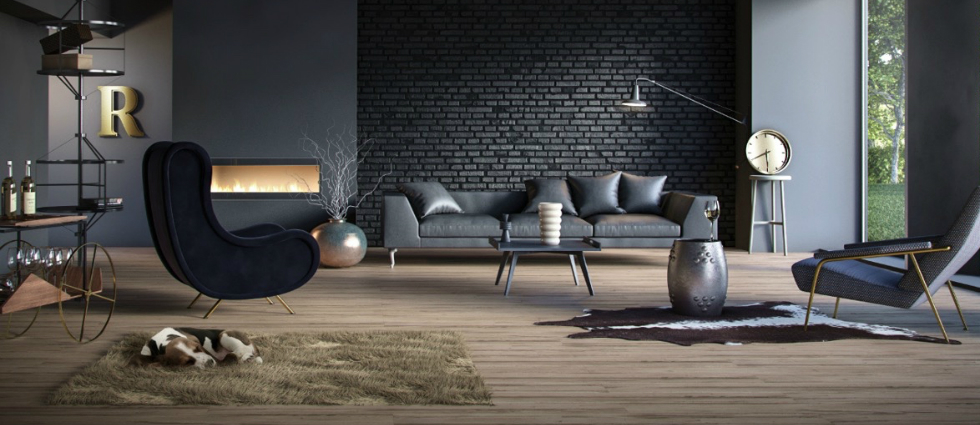 10 Industrial Decor Living Room Ideas