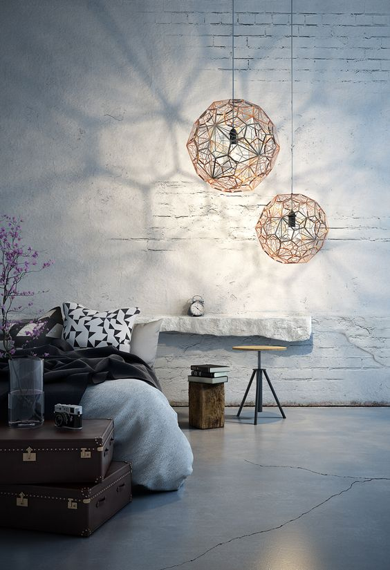 Unforgettable Industrial elements for your bedroom industrial design Unforgettable Industrial design elements for your bedroom a0e0bfd87701f299729b6218f14710d8