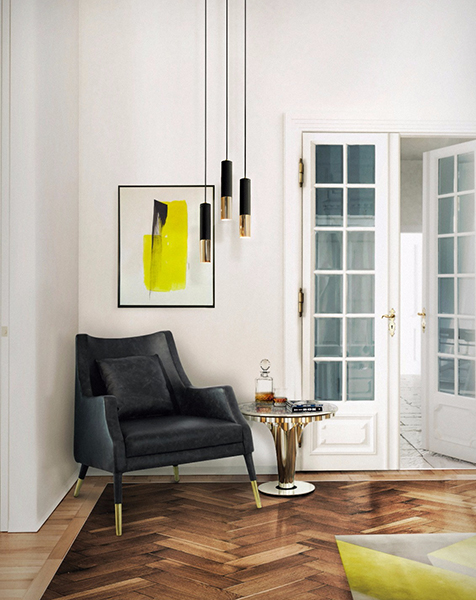 Splendid suspension lamps with a golden touch  golden touch Splendid suspension lamps with a golden touch  ike pendant 03