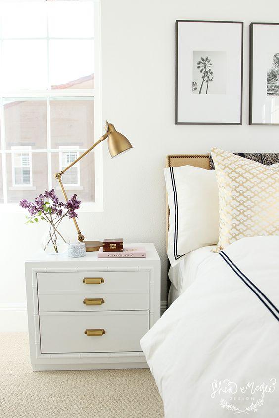 Extraordinary vintage bedside lamps