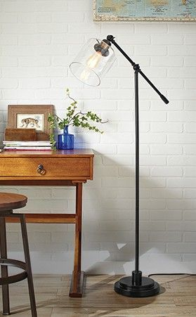 Perfect floor lamps for your industrial living room