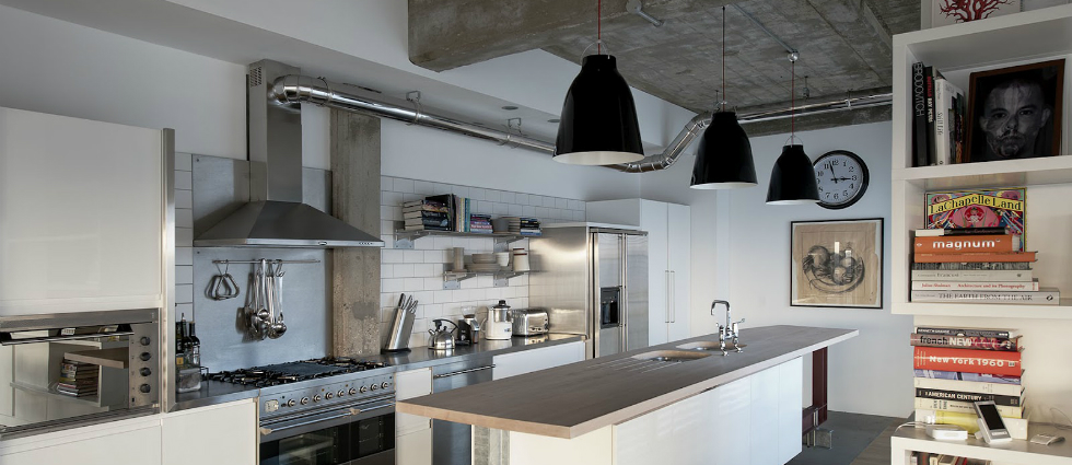Industrial lighting: Lovely classic kitchen lighting