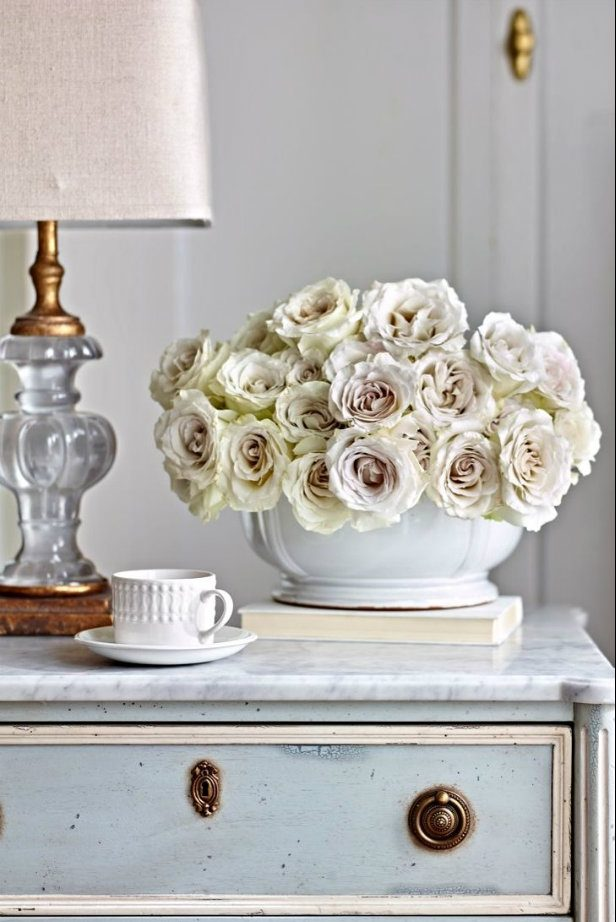 French country inspiration d cor - Chic french country inspired home real comfort and elegance ...