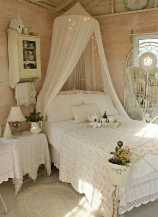 Top quality shabby chic style decorating ideas   Romantic bedroom