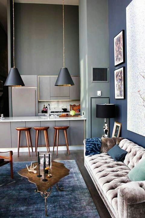 Industrial style legendary lamps for your living room