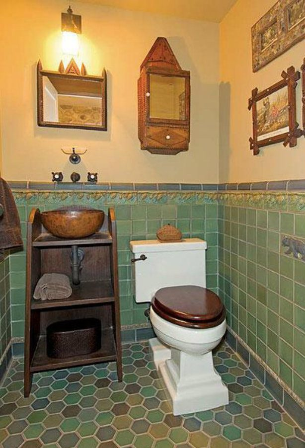 Arts and crafts movement in america - Arts and crafts style bathroom design ...