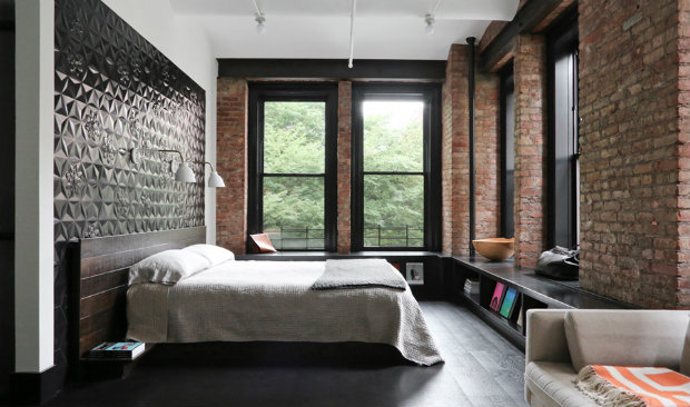 Bringing new york loft style into the bedroom for How to design a loft