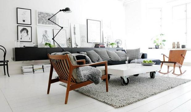 Scandinavian design mingles withe industrial style scandinavian design Scandinavian Design Mingles With Industrial Style Scandinavian design mingles withe industrial style