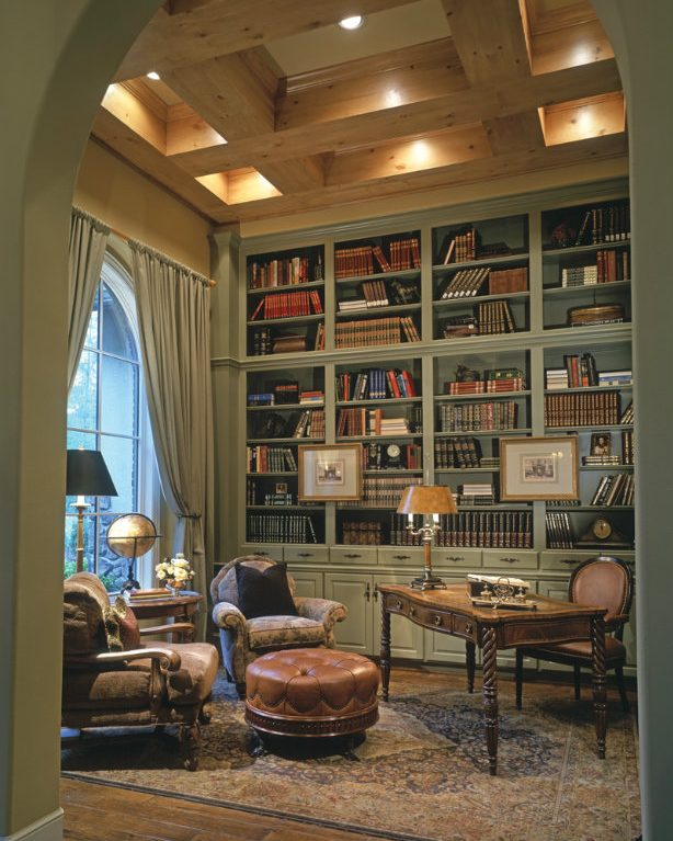Vintage Inspired Home Decor: Vintage-Inspired Home Libraries To Envy