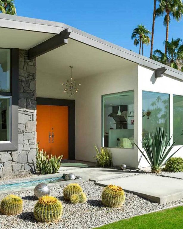 Mid-Century Modern Outdoor Designs For The Vintage Style Lovers