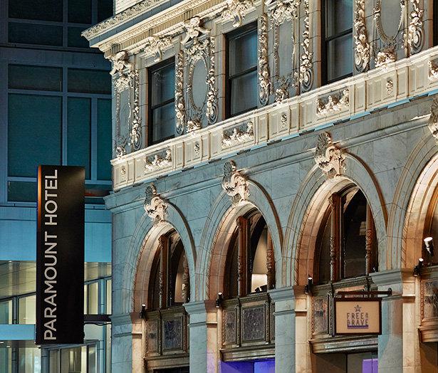 Paramount Hotel: A New York Landmark paramount hotel Paramount Hotel: A New York Architectural Landmark Paramount Hotel A New York Landmark 3