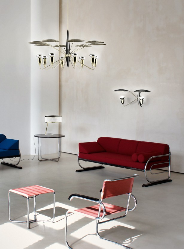 Oustanding Mid-Century Suspension Lamps