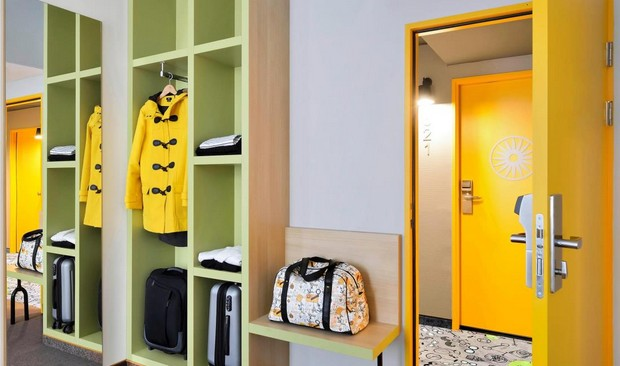 The 80's Influence in Ibis Styles Budapest City Hotel