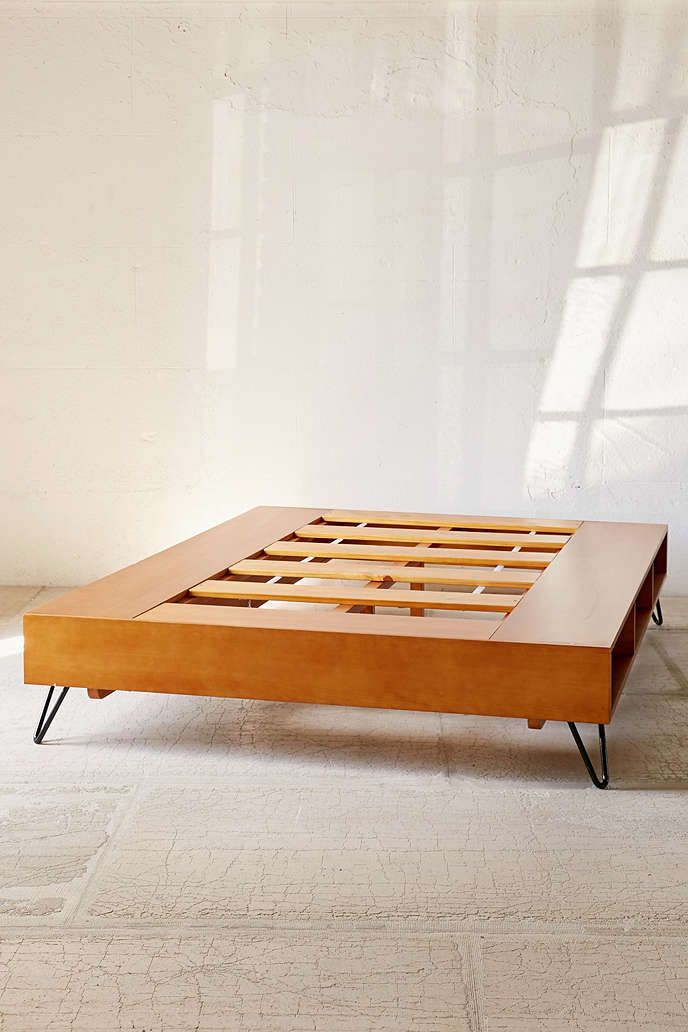Charming Mid Century Modern Bed By Urban Outfitters