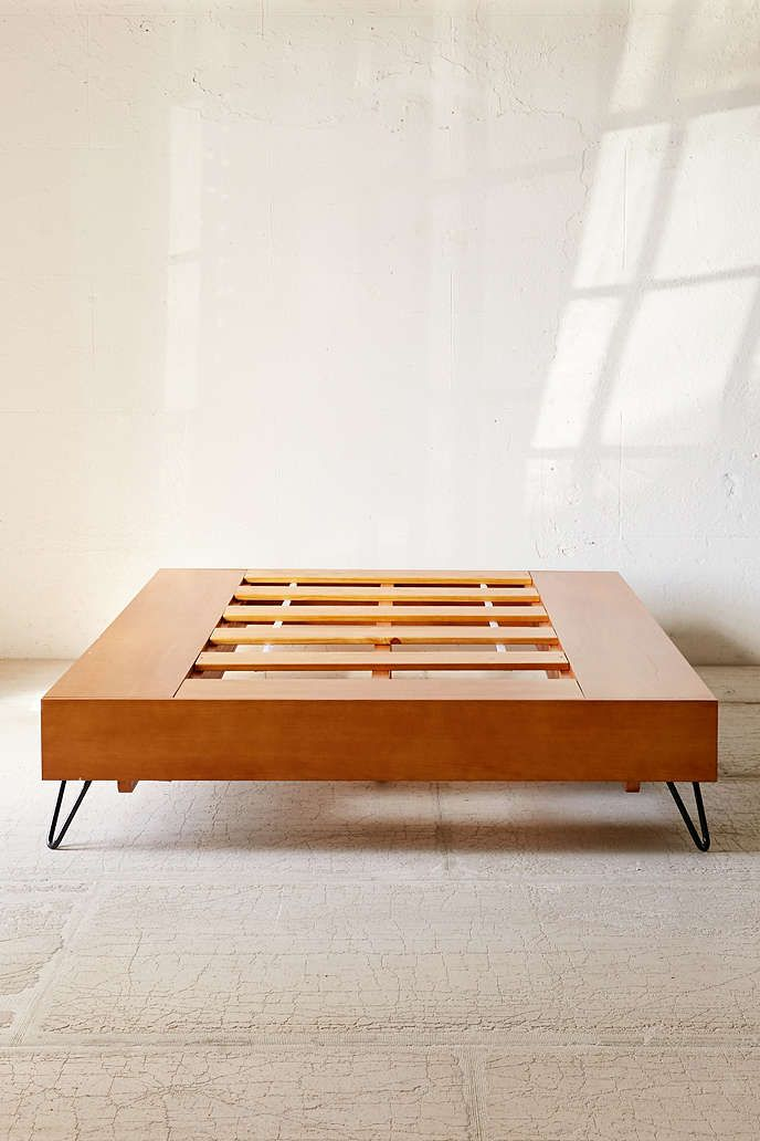 Charming mid-century-modern bed by Urban Outfitters Mid-century modern Charming mid-century modern bed by Urban Outfitters Charming mid century modern bed by Urban Outfitters4