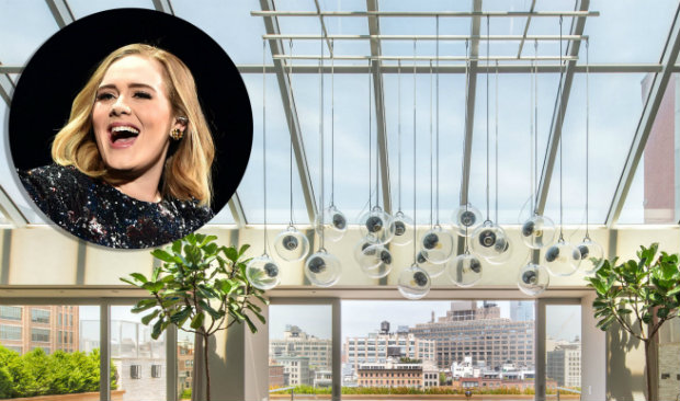 Get to know the AMAZING New York apartment Adele rented during her US tour New York apartment Get to know the AMAZING New York apartment Adele rented during tour! Get to know the AMAZING New York apartment Adele rented during her US tour 1