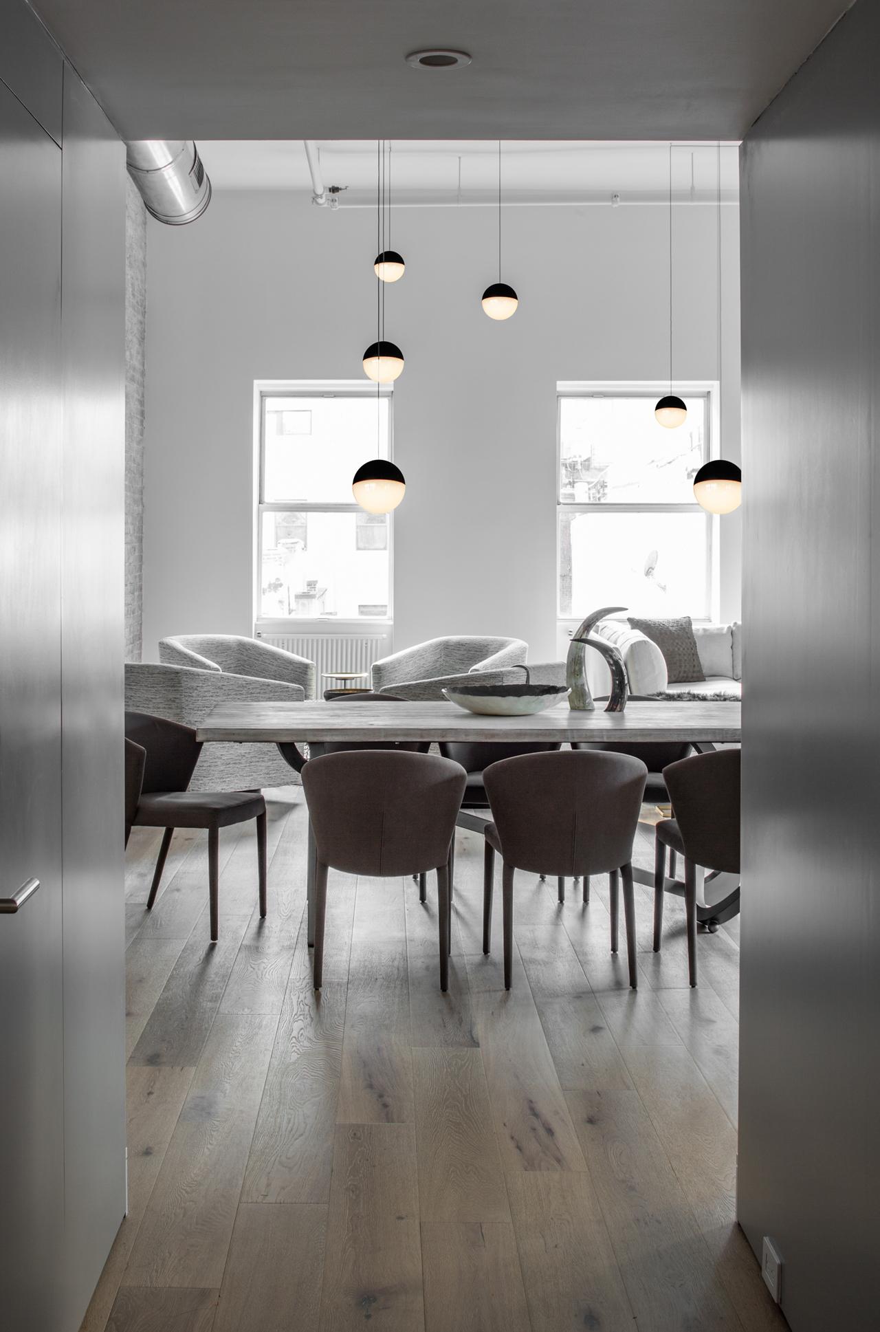 Industrial loft in new york designed for entertaining - Loft industrial ...