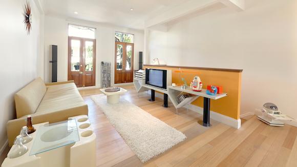 Retro-Modern Loft of Designtel's Benjamin Jay Shand