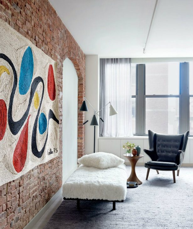 Will Ferrell's Colorful New York Industrial Loft