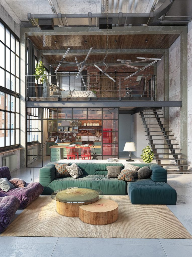 3 countries, 3 dazzling industrial lofts