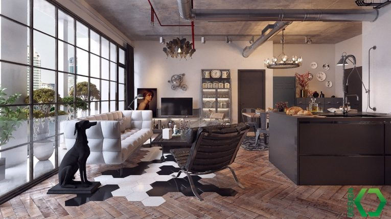 3 countries, 3 dazzling industrial lofts 13