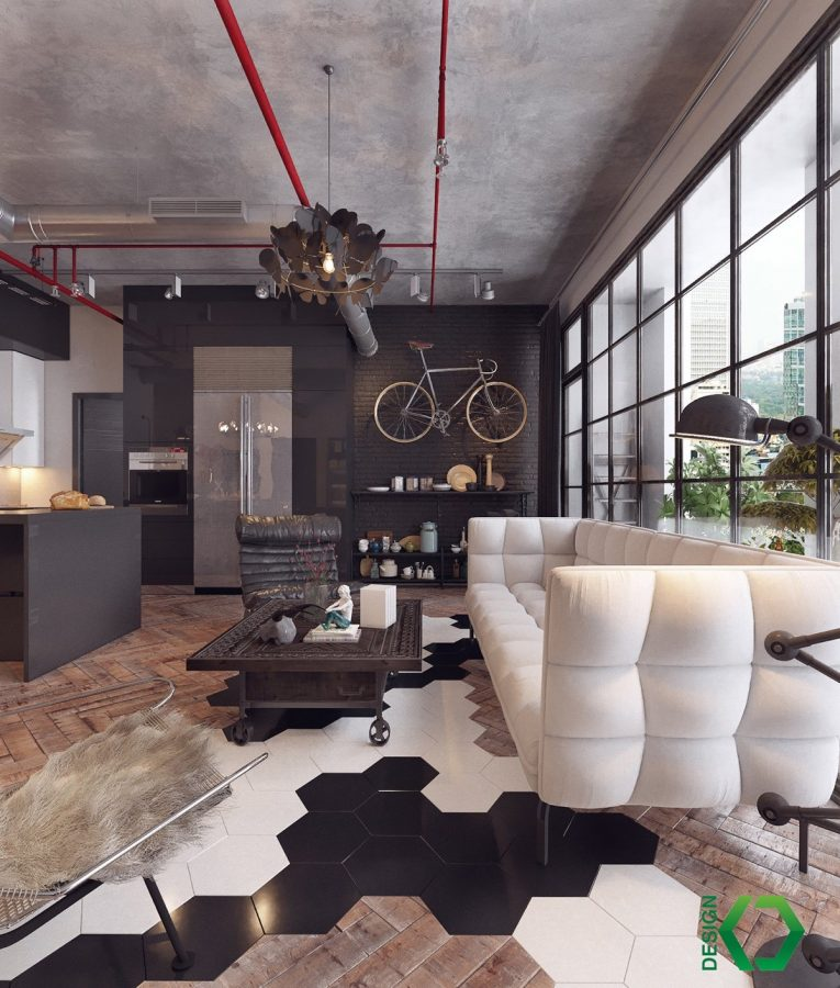 3 countries, 3 dazzling industrial lofts 16