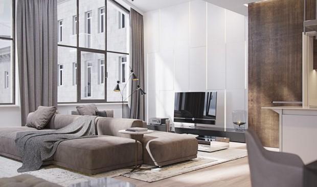Superb Italian apartment with a voguish lighting designs lighting designs Distinguished Italian apartment with voguish lighting designs Image00001 6