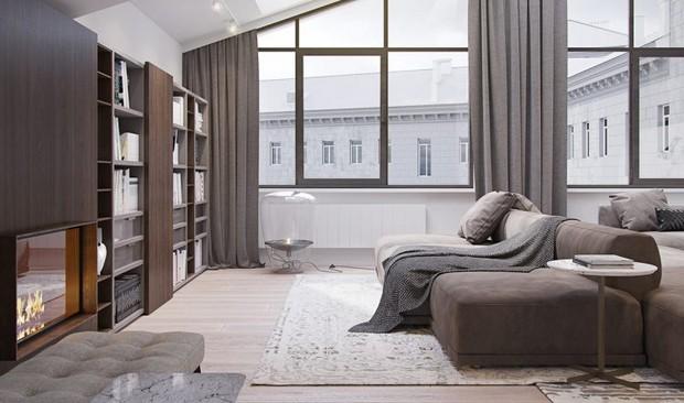 Superb Italian apartment with a voguish lighting designs lighting designs Distinguished Italian apartment with voguish lighting designs Image00002 2