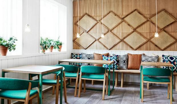 Industrial Style Coffee Bars & Restaurants