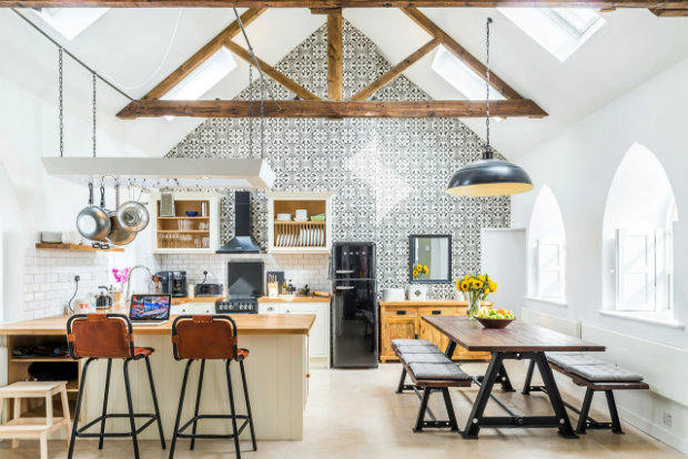 Renovation: Traditional Churches Become Modern Homes