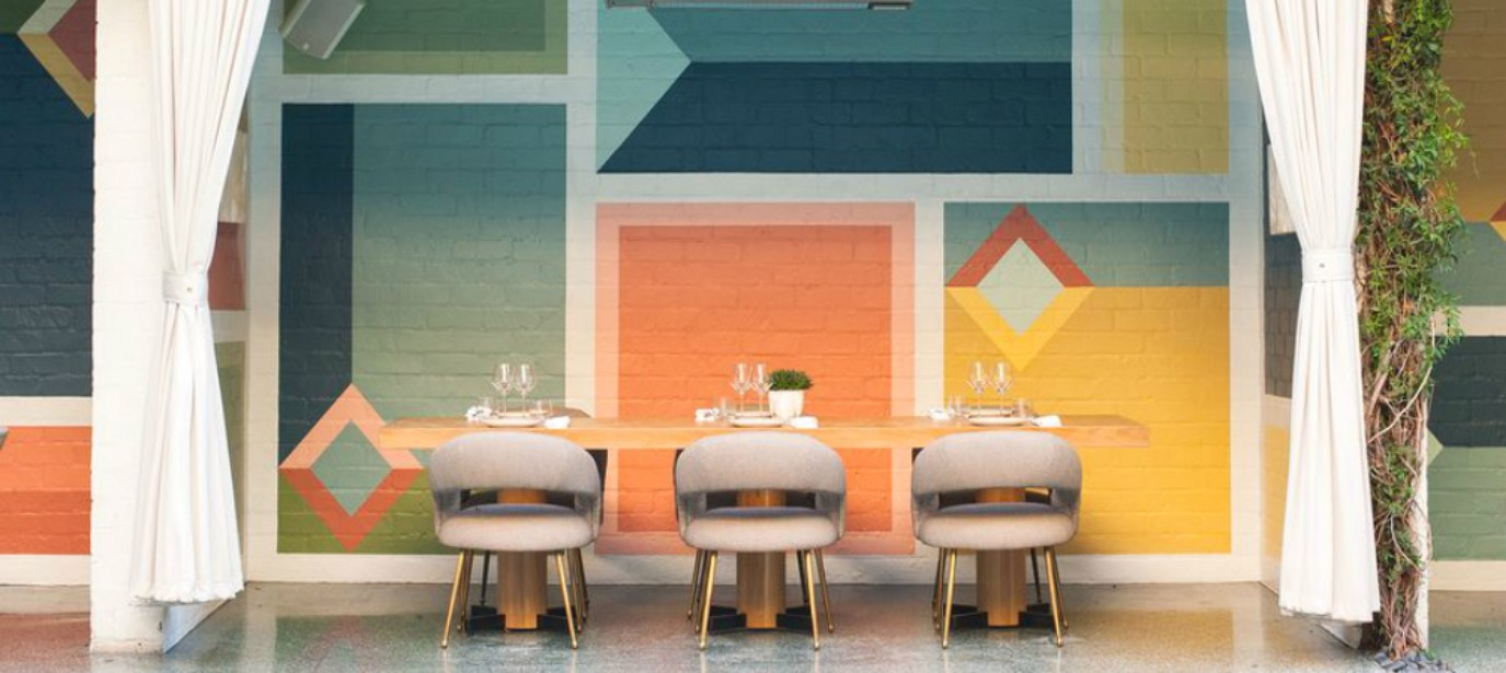 interior designers, mid-century, interior design style Mid-century Restaurant Design by Kelly Wearstler-3 restaurant design Mid-century Restaurant Design by Kelly Wearstler feat22