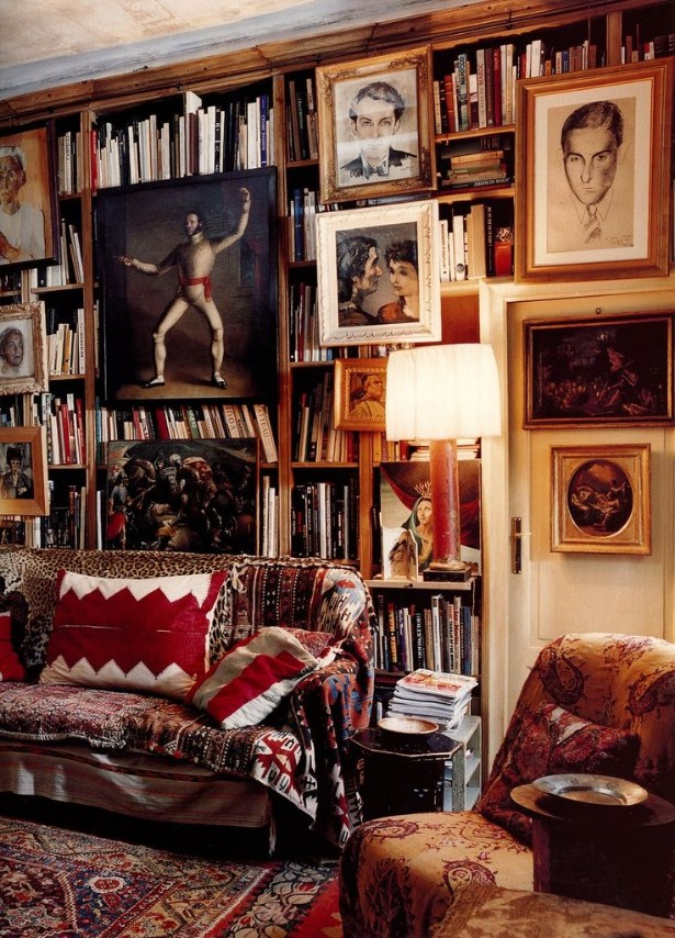 The perfect vintage library for your home
