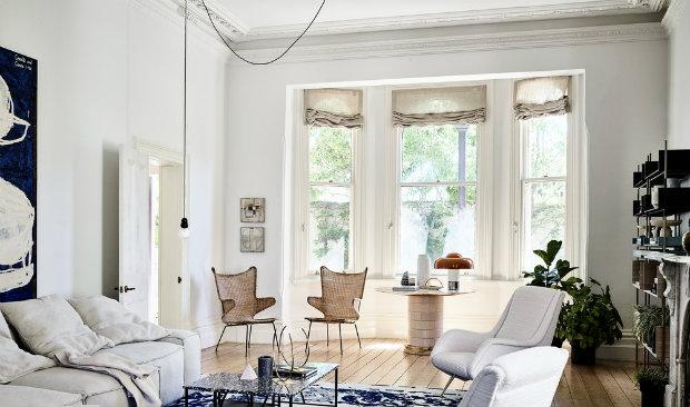 vintage furniture Vibrant Residence Filled with Vintage Furniture and Texture Vibrant Residence Filled with Vintage Furniture and Texture FEAT