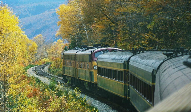 Vintage Treasures The Most Beautiful Train Routes in America FEAT