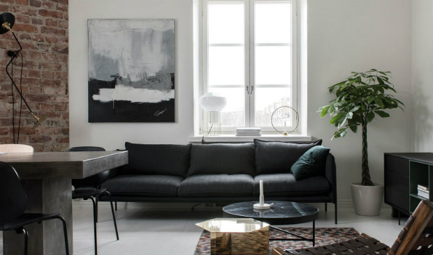 An Industrial Style Apartment in Helsinki by Laura Seppänen 13