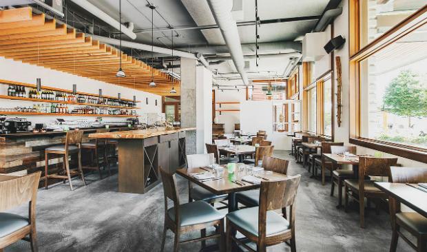 Outstanding Industrial Design Restaurant Near Seattle's Downtown