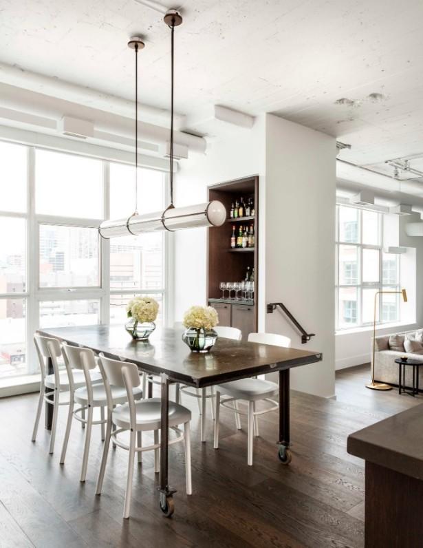 Stunning Lighting Designs Brighten Up Toronto Industrial Loft