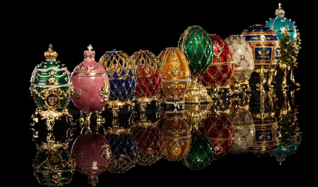 Turn Your Vintage Decor Majestic With Fabergé Eggs