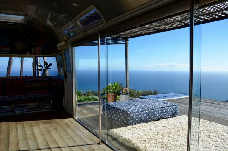 Vintage Airstream with Sweeping Views in Malibu 1