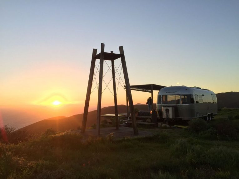 Airstream with Sweeping Views in Malibu 8