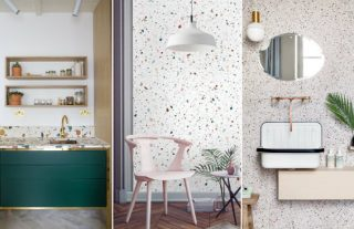 Vintage Trends This '70s Flooring Material Is Making a Major Comeback FEAT