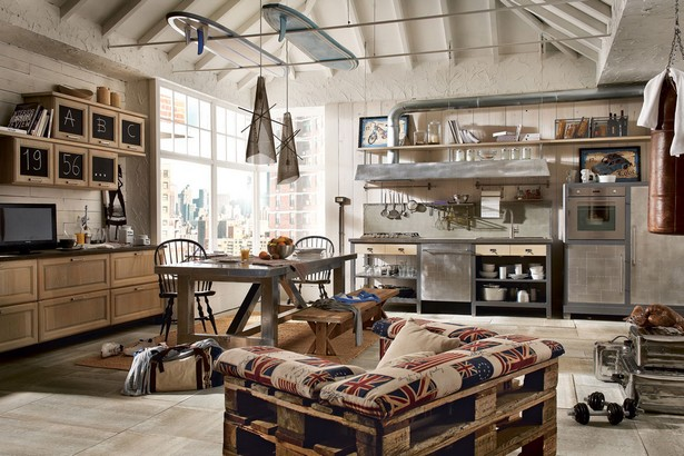Whatu0027s Hot On Pinterest 5 Industrial Style Kitchens 1 Hot On Pinterest  Whatu0027s Hot On Pinterest